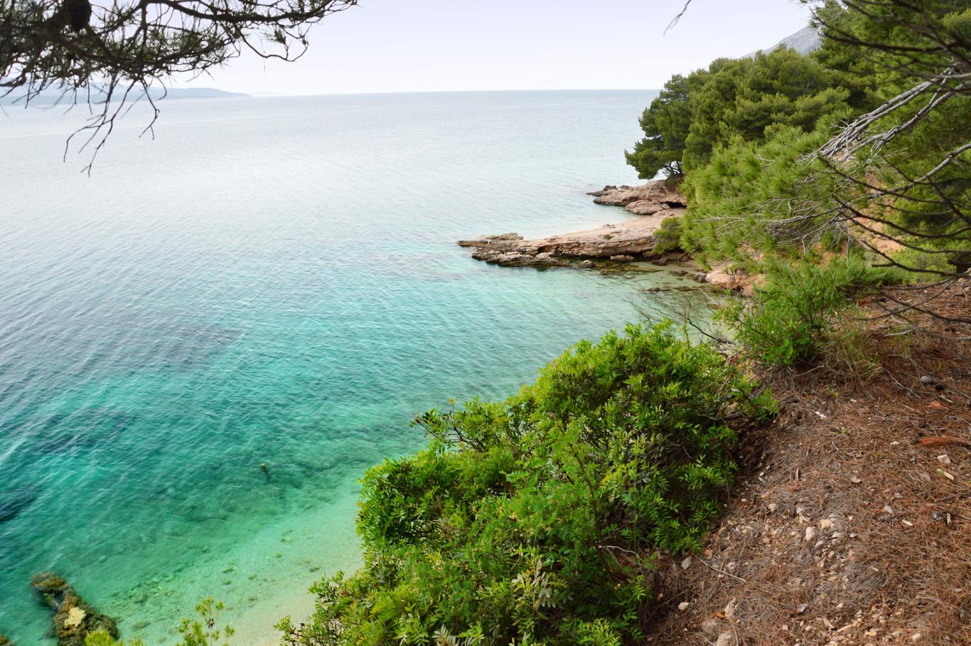 The sea at Zlatni Rat