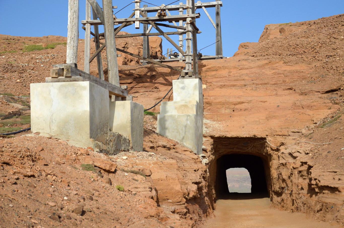 Salinas de Pedra de Lume - the entrance