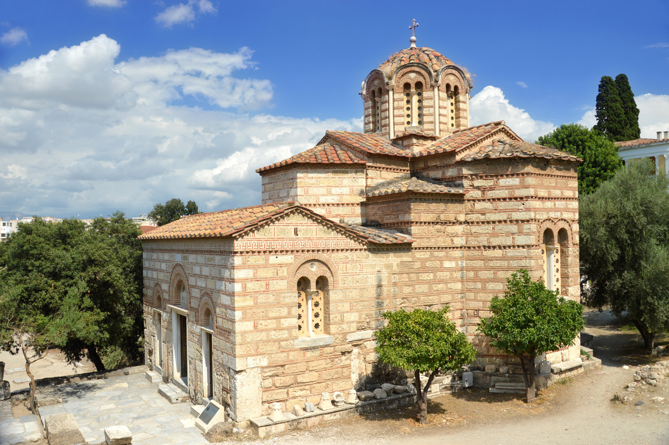 Church of the Holy Apostles in Acropolis