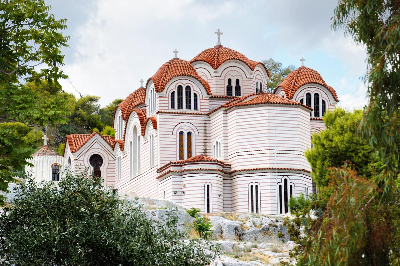 Greek Orthodox Church - on the way to Monastiraki