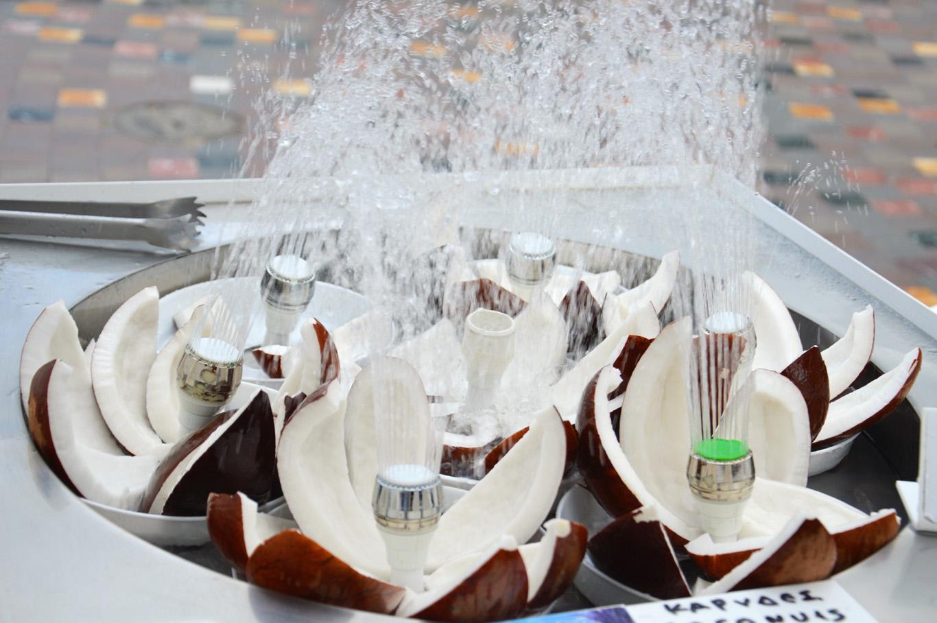 Drinking water fountains at Monastiraki