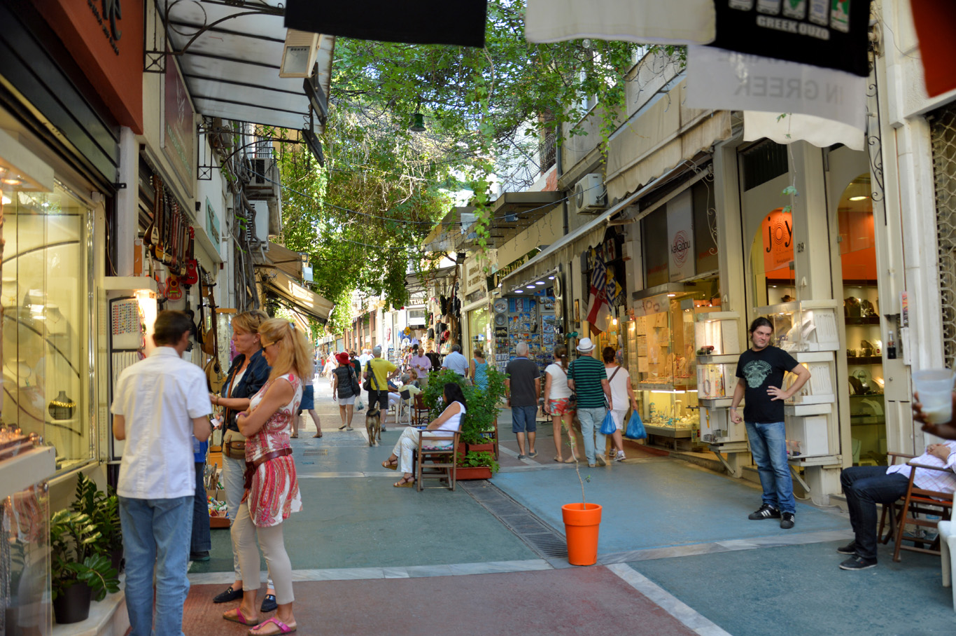 Streets in Plaka