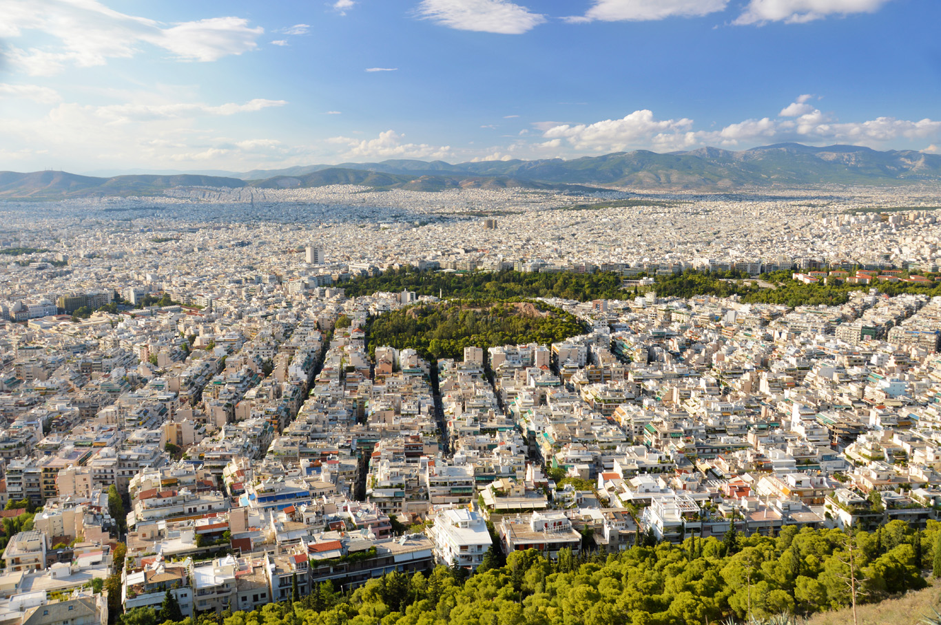 View from Mt. Lycabettus