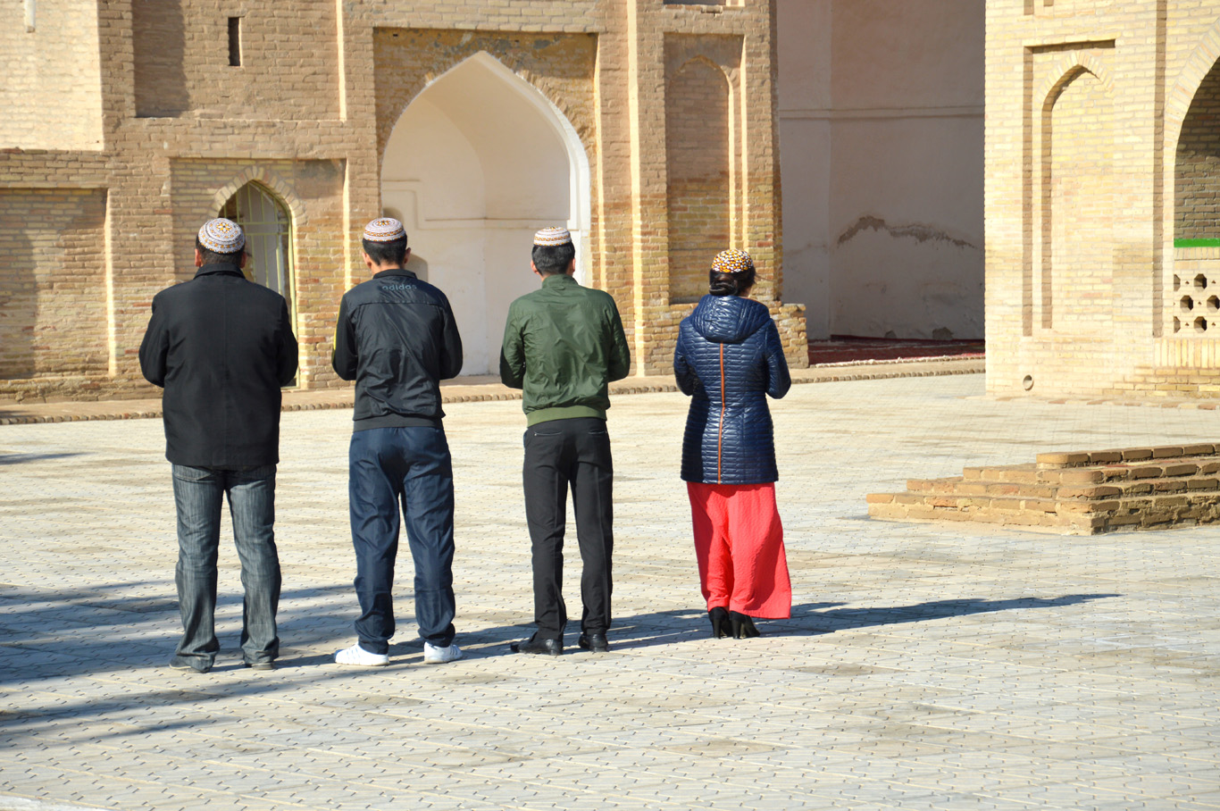 Tower at Yusuf Hamadani mosque