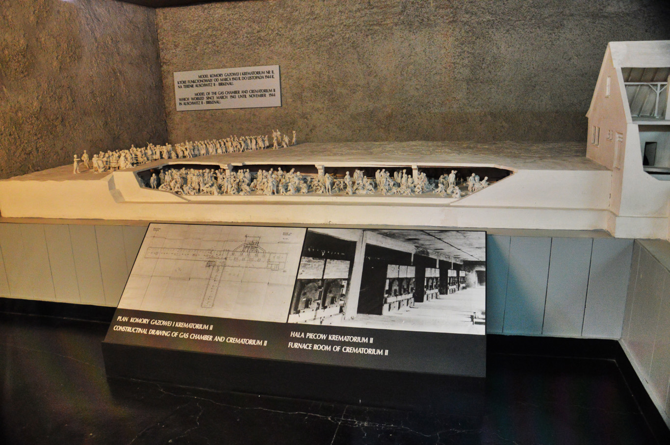 A model of a gas chamber