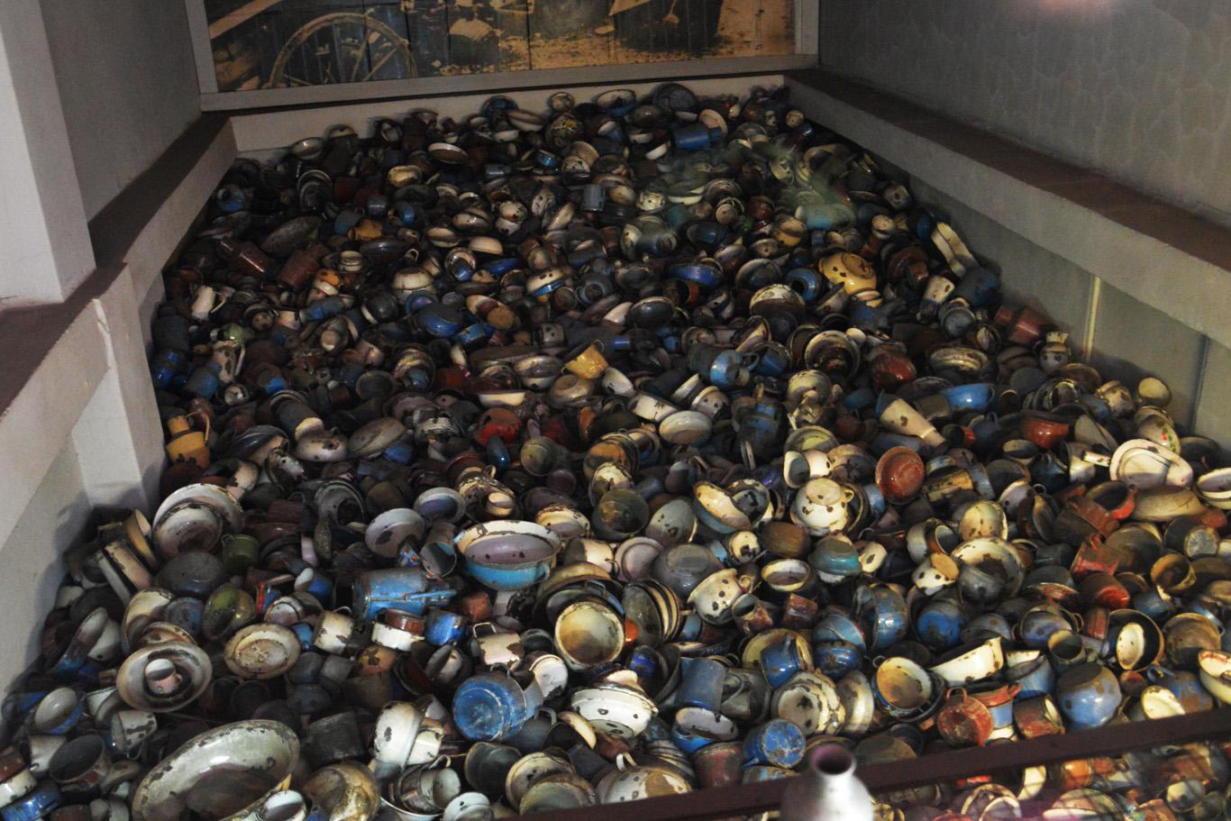 Pots taken from prisoners