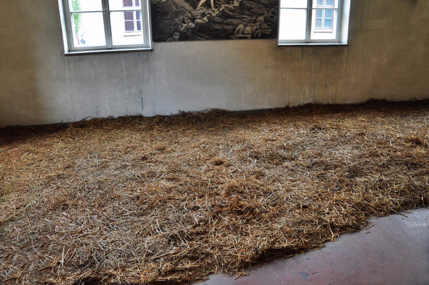 Bedding in Auschwitz I