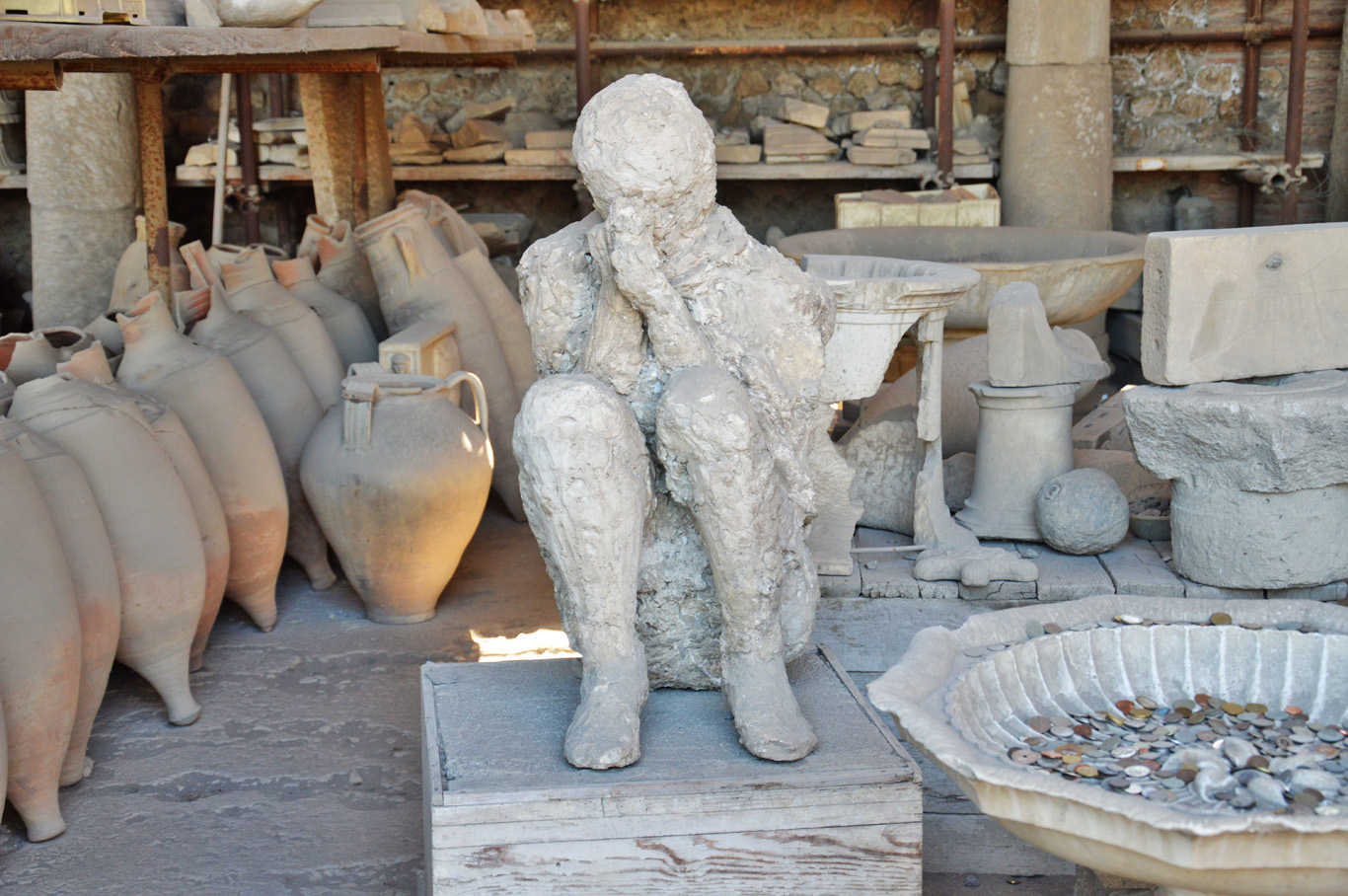 The casts of the victims