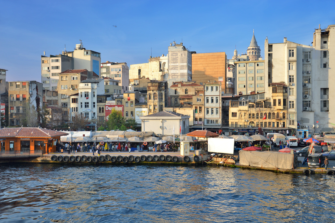 Typical, ordinary buildings in Istanbul