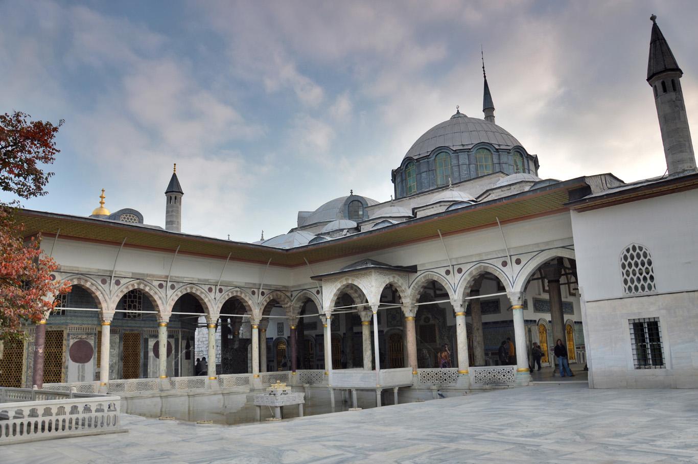 At the Topkapi Palace