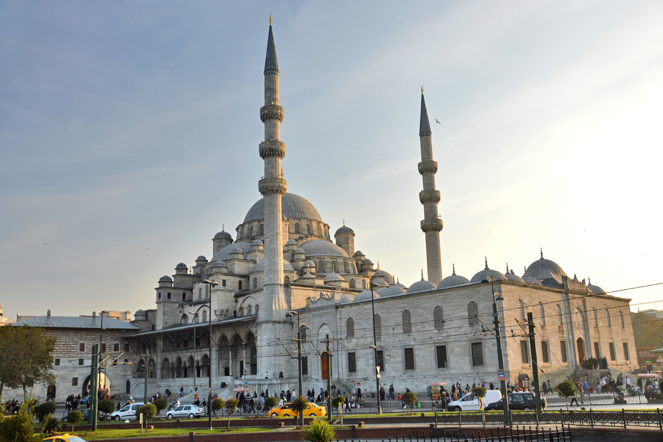 Suleymaniye Mosque - view from Galata bridge