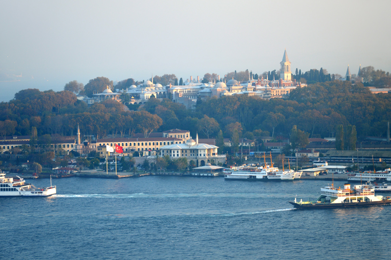 Topkapi Palace - view from the Galata Tower