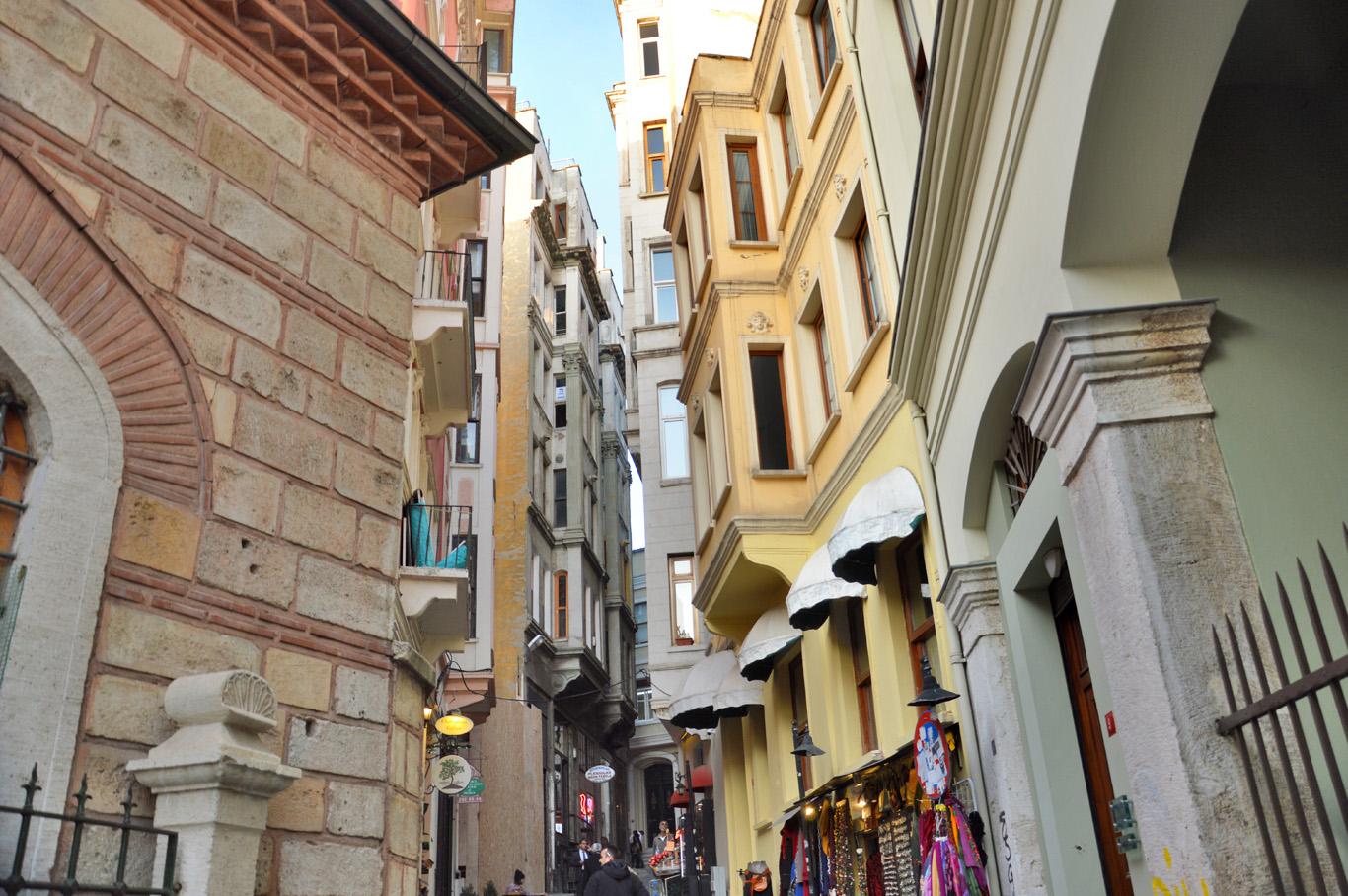 Buildings at Galata Tower