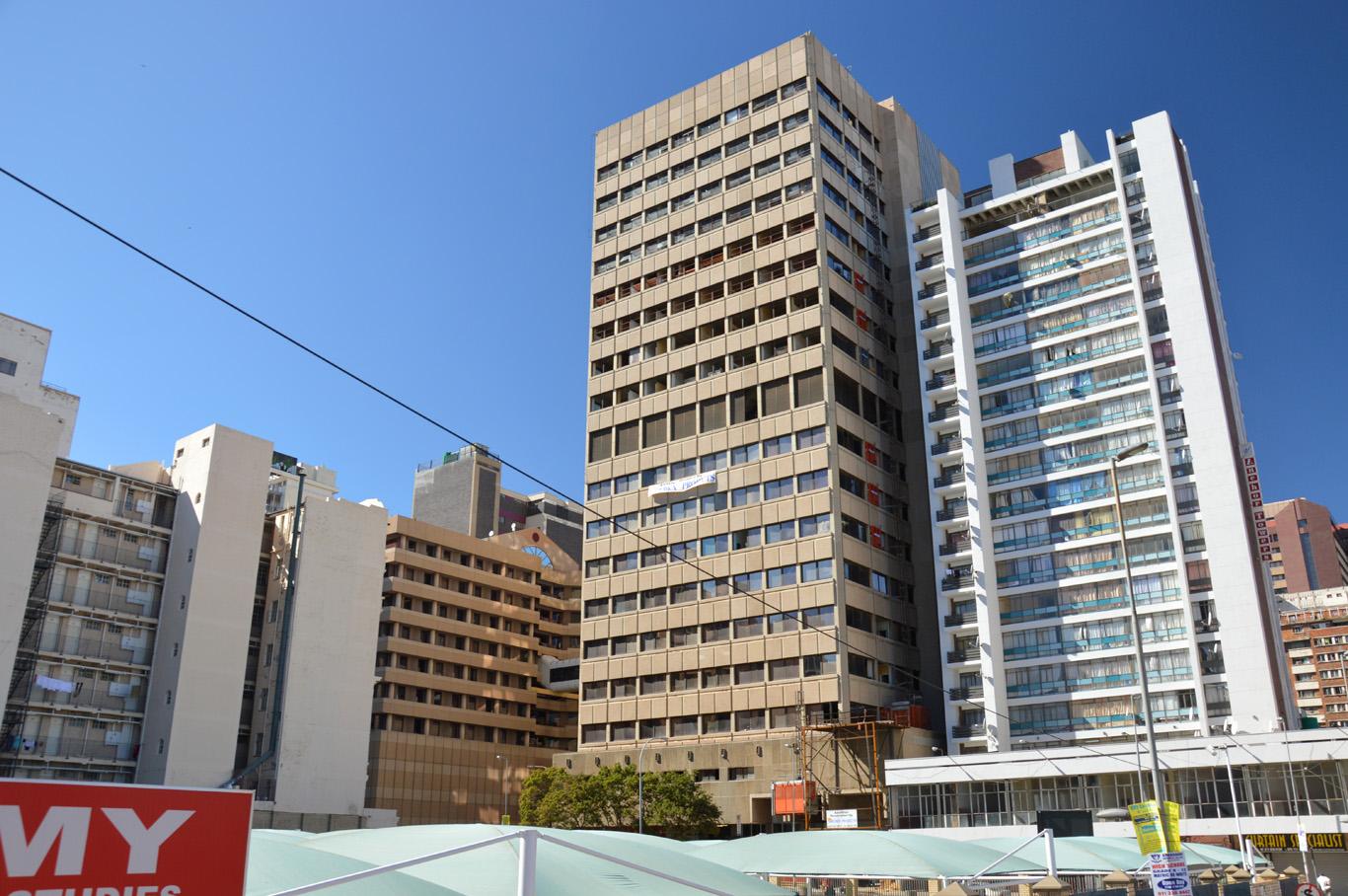 Buildings in Johannesburg