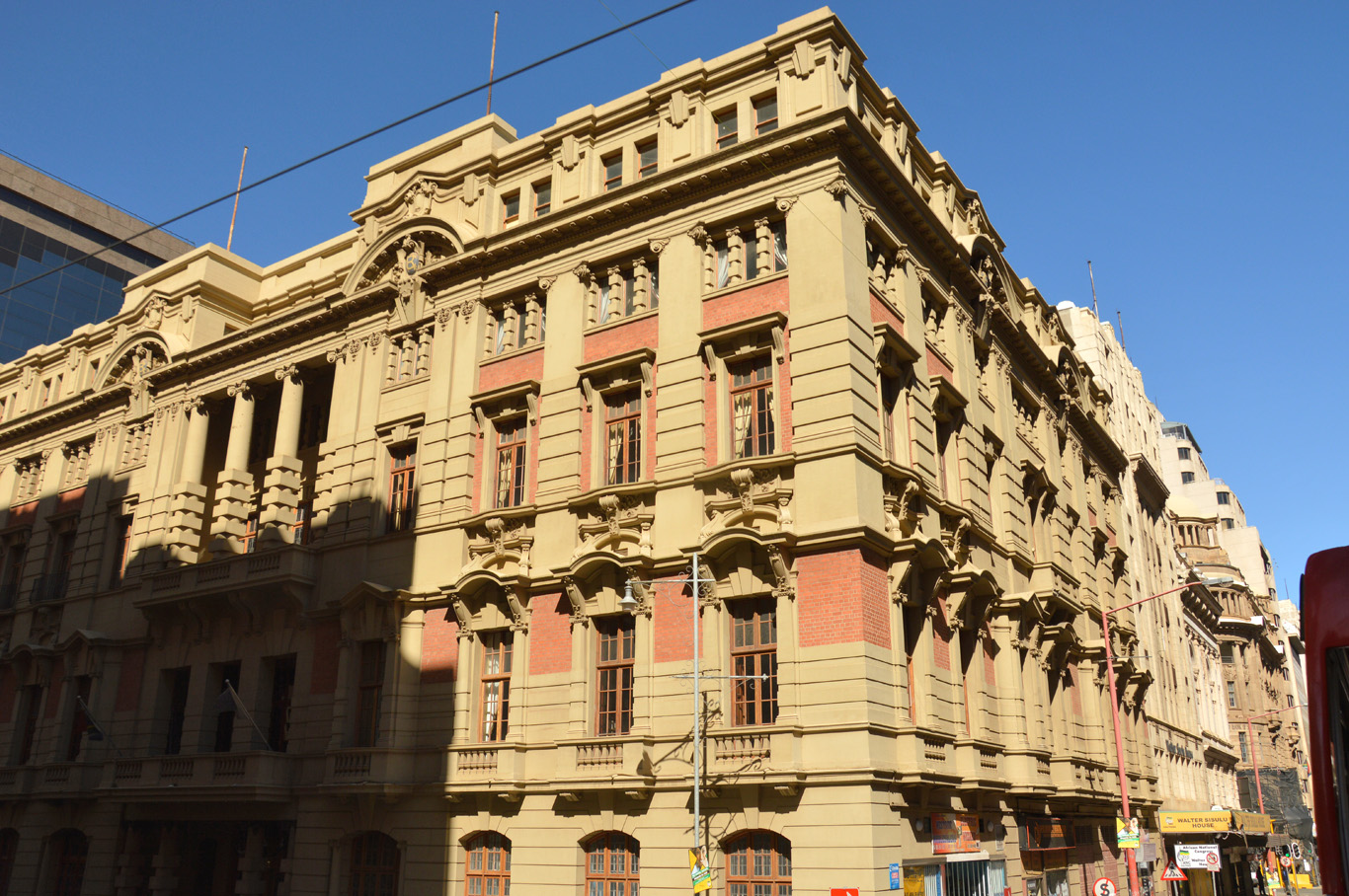 Old architecture in Johannesburg