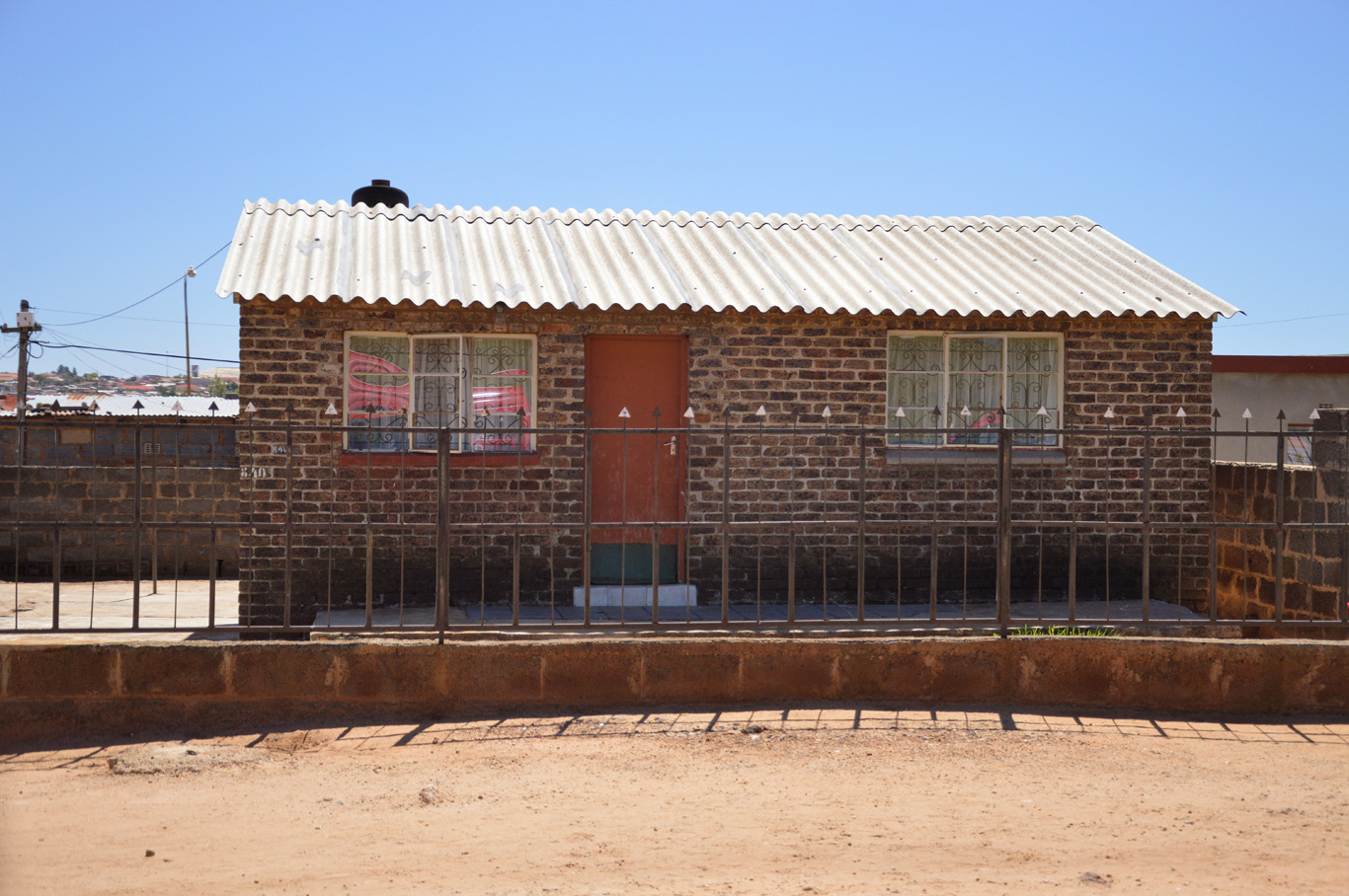 Typical house of Soweto