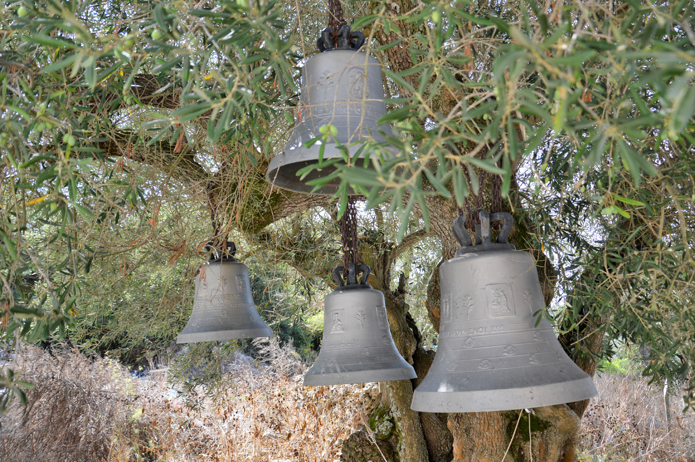 Bells at St. George's Monastery