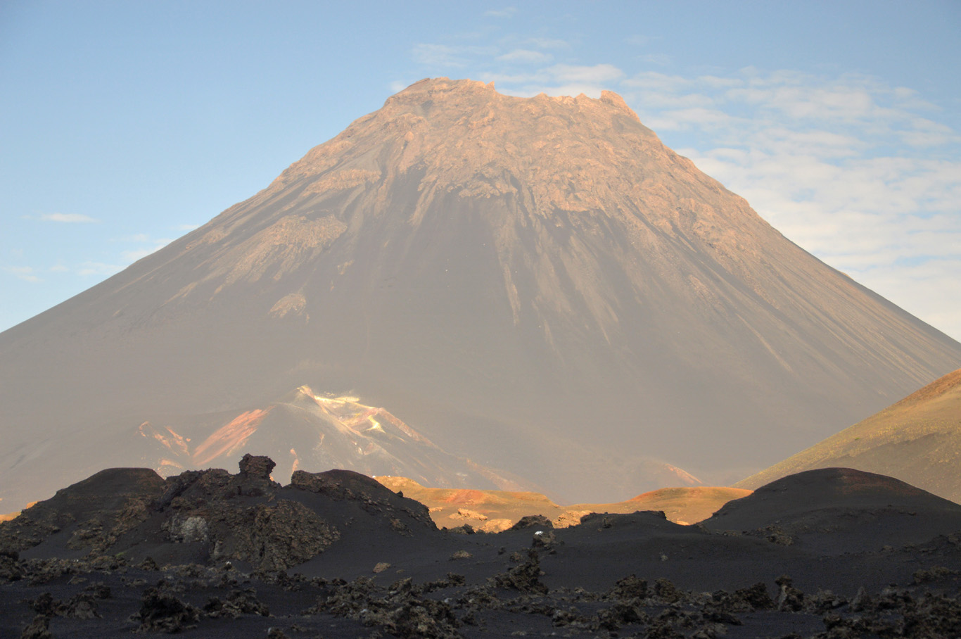 Pico do Fogo in the evening