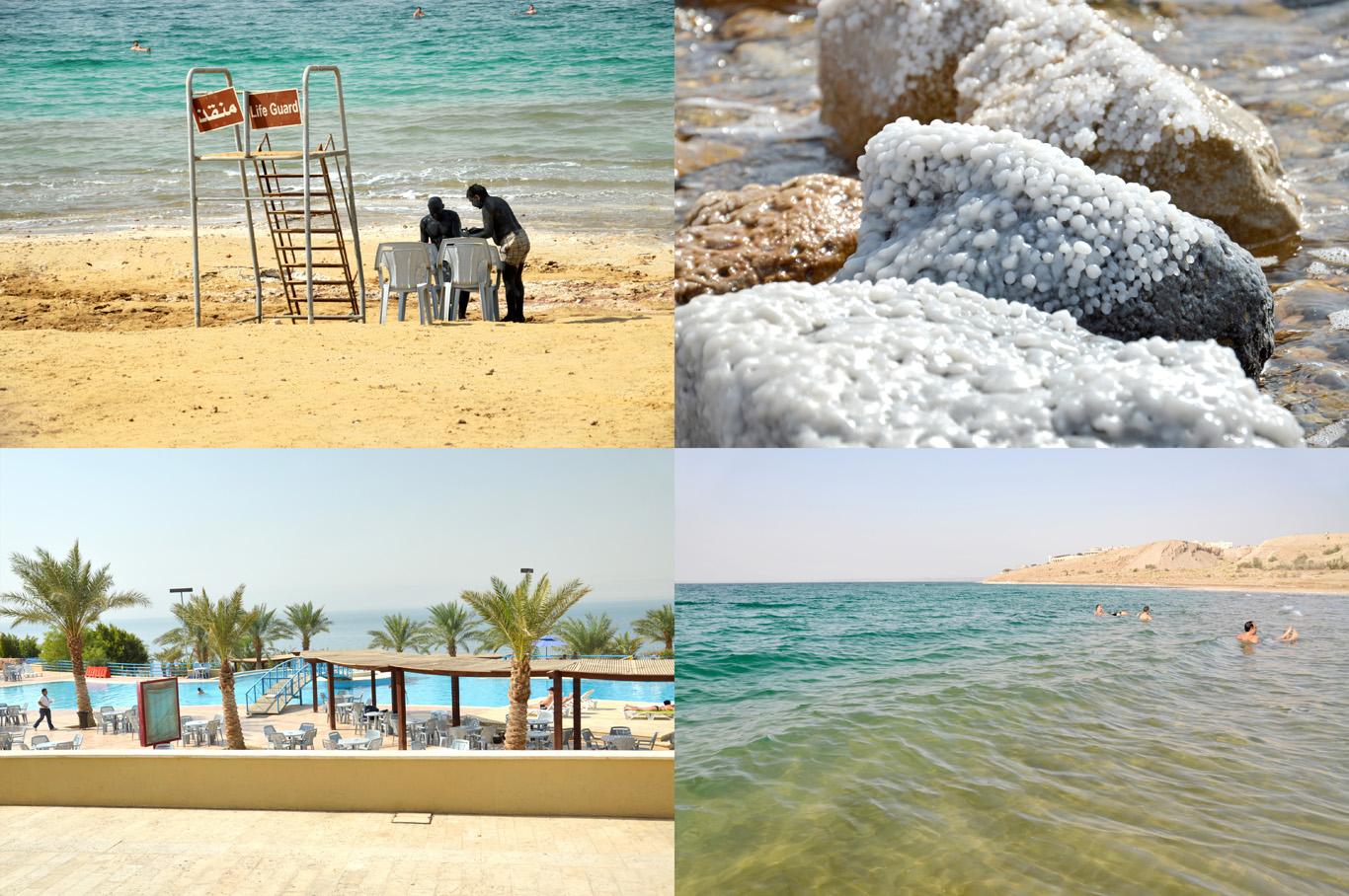 Dead Sea in Jordan