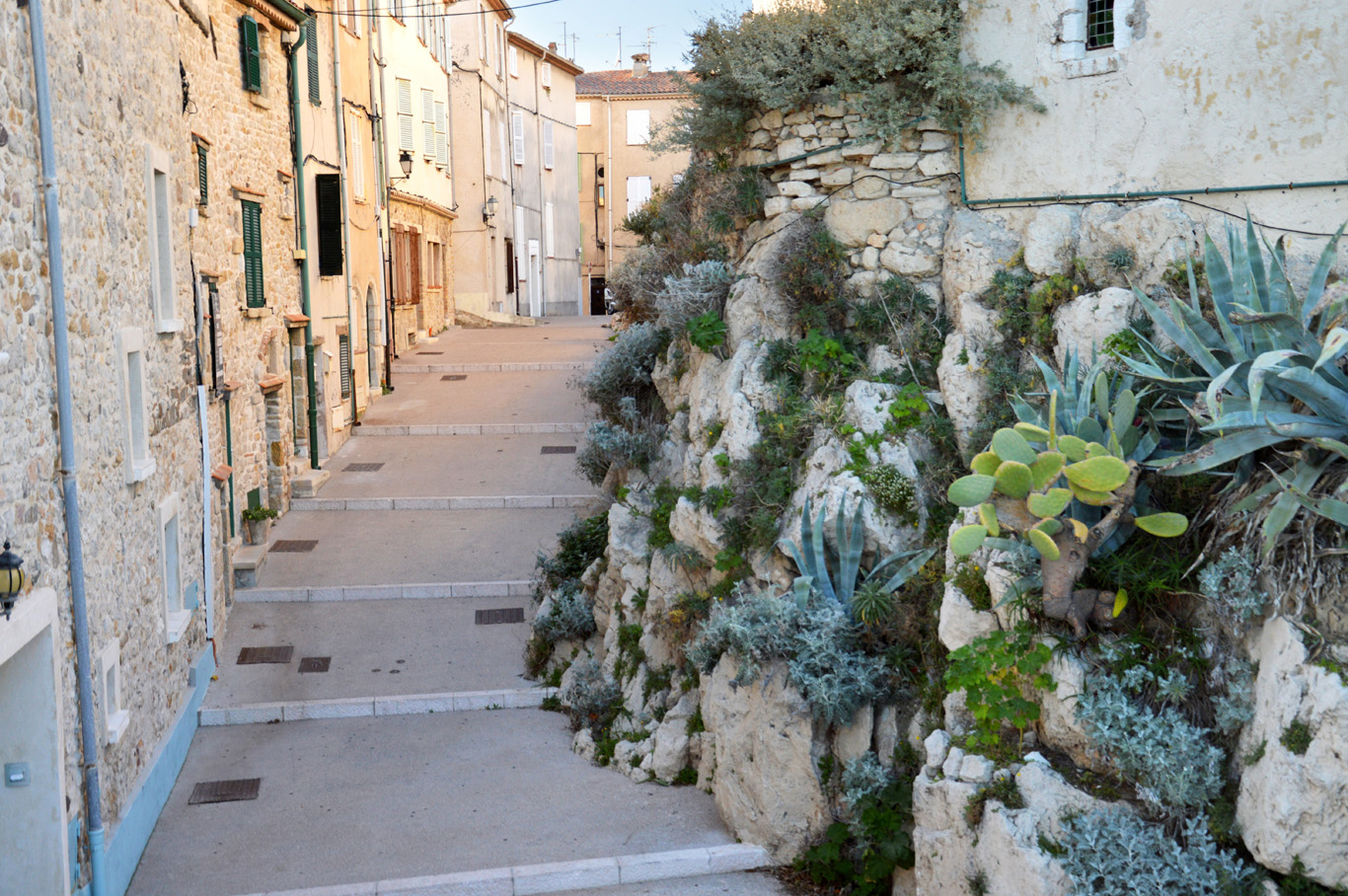 Old street in Antibes