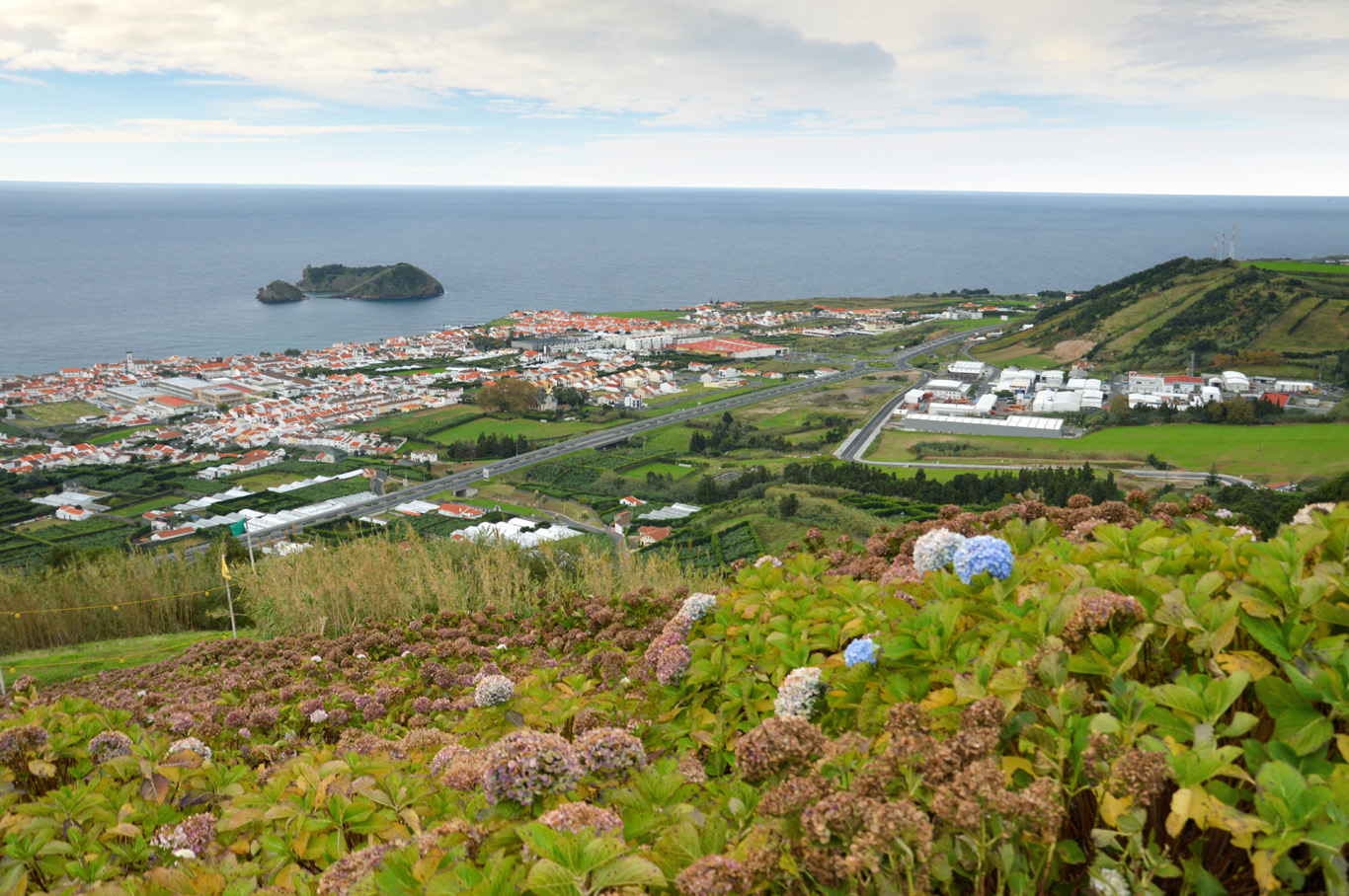 View from Senhora da Paz hill