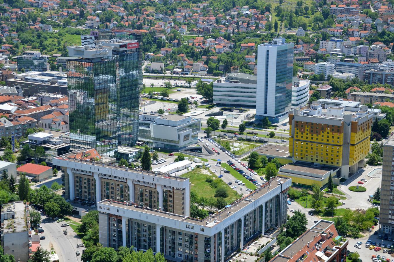 Modern Sarajevo