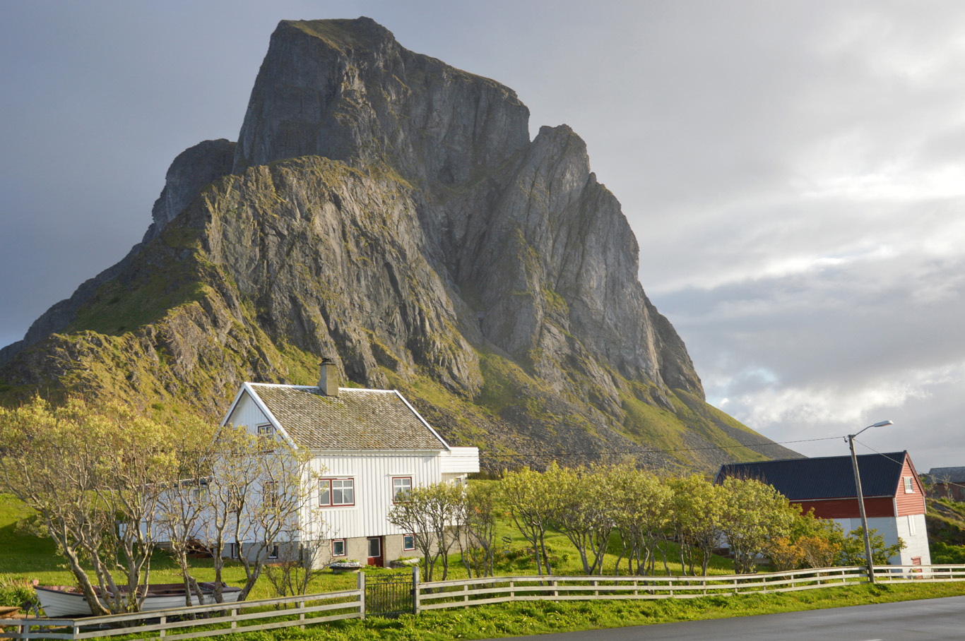 Dramatic landscapes in Nordland