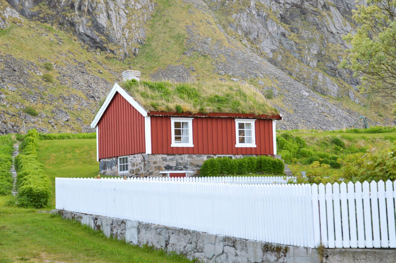 Local house in Nordland