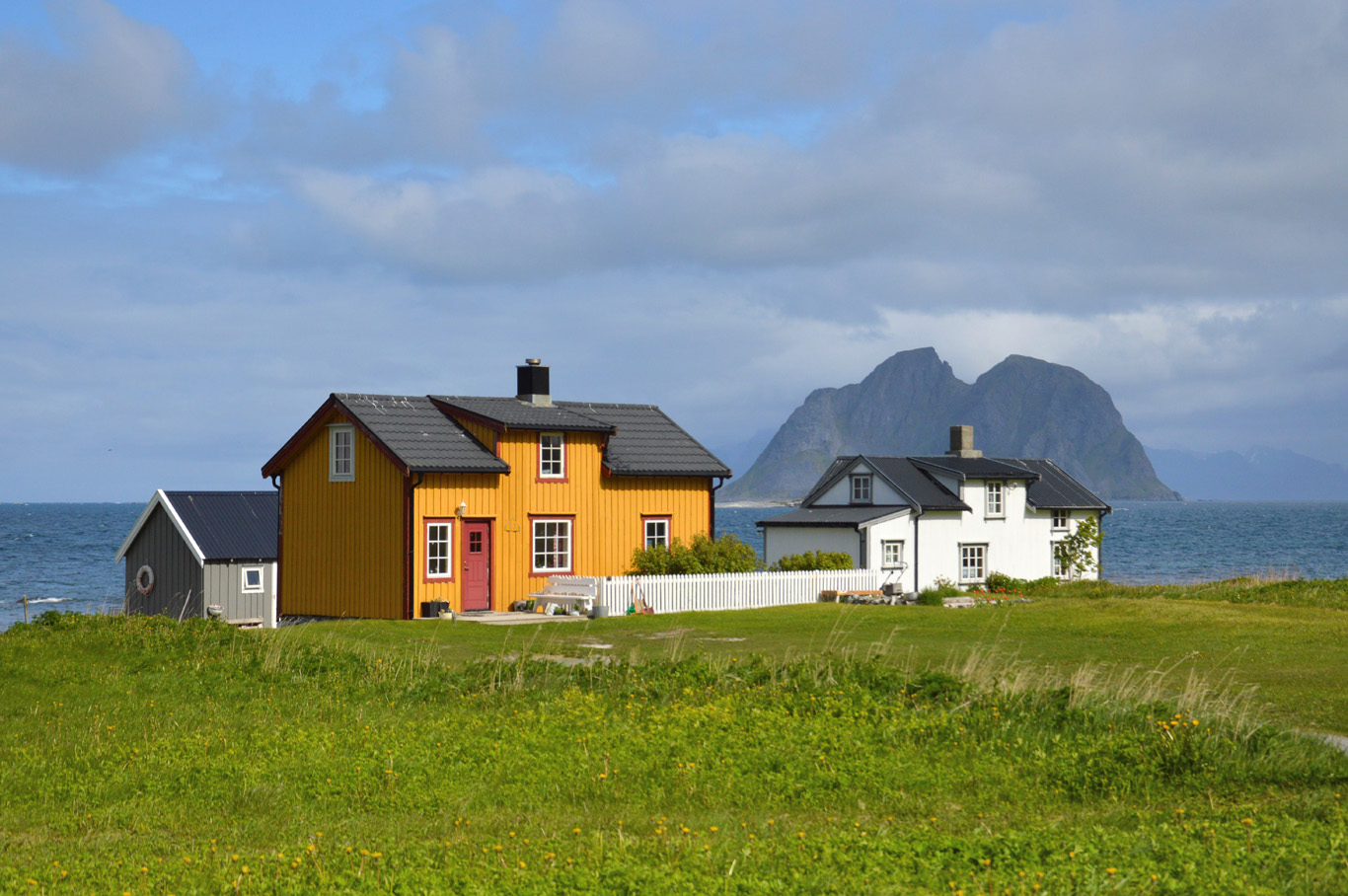 Houses in Nordland