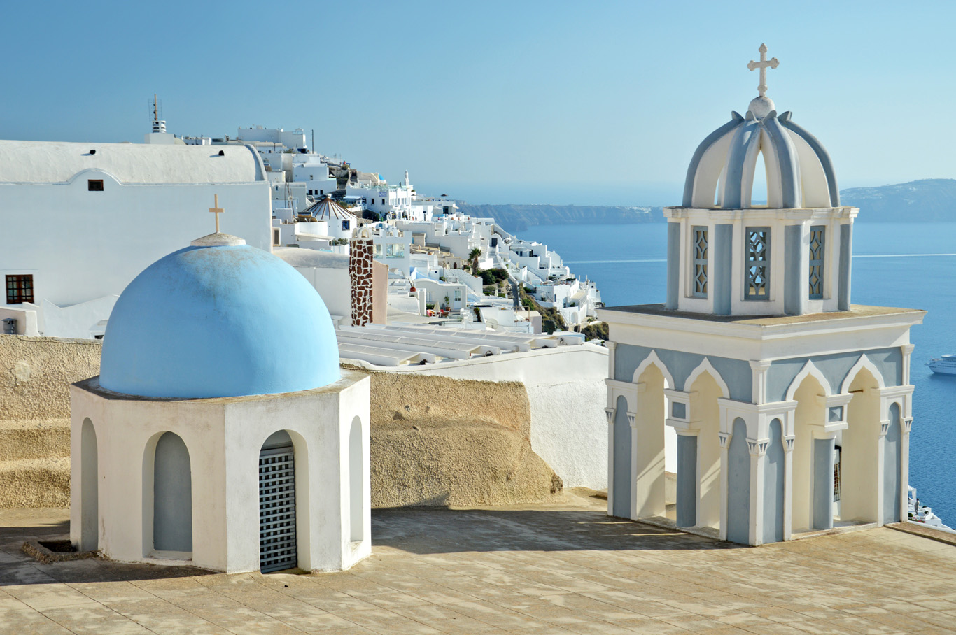 View over Fira