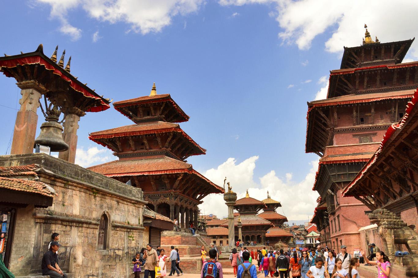 Patan Durbar Square - Bhimsen Mandir Temple