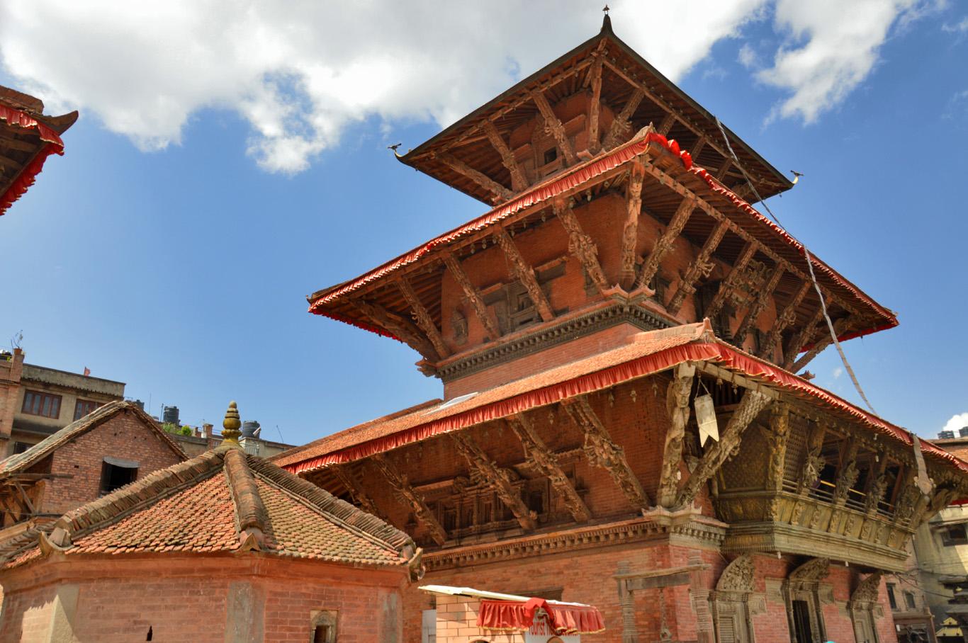 Patan Durbar Square - Bhimsen Temple