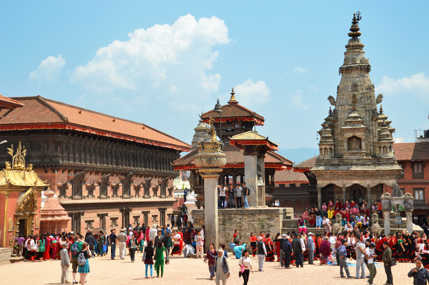 Bhaktapur Durbar Square - for more info and tips how to get there from Kathmandu, check my post here
