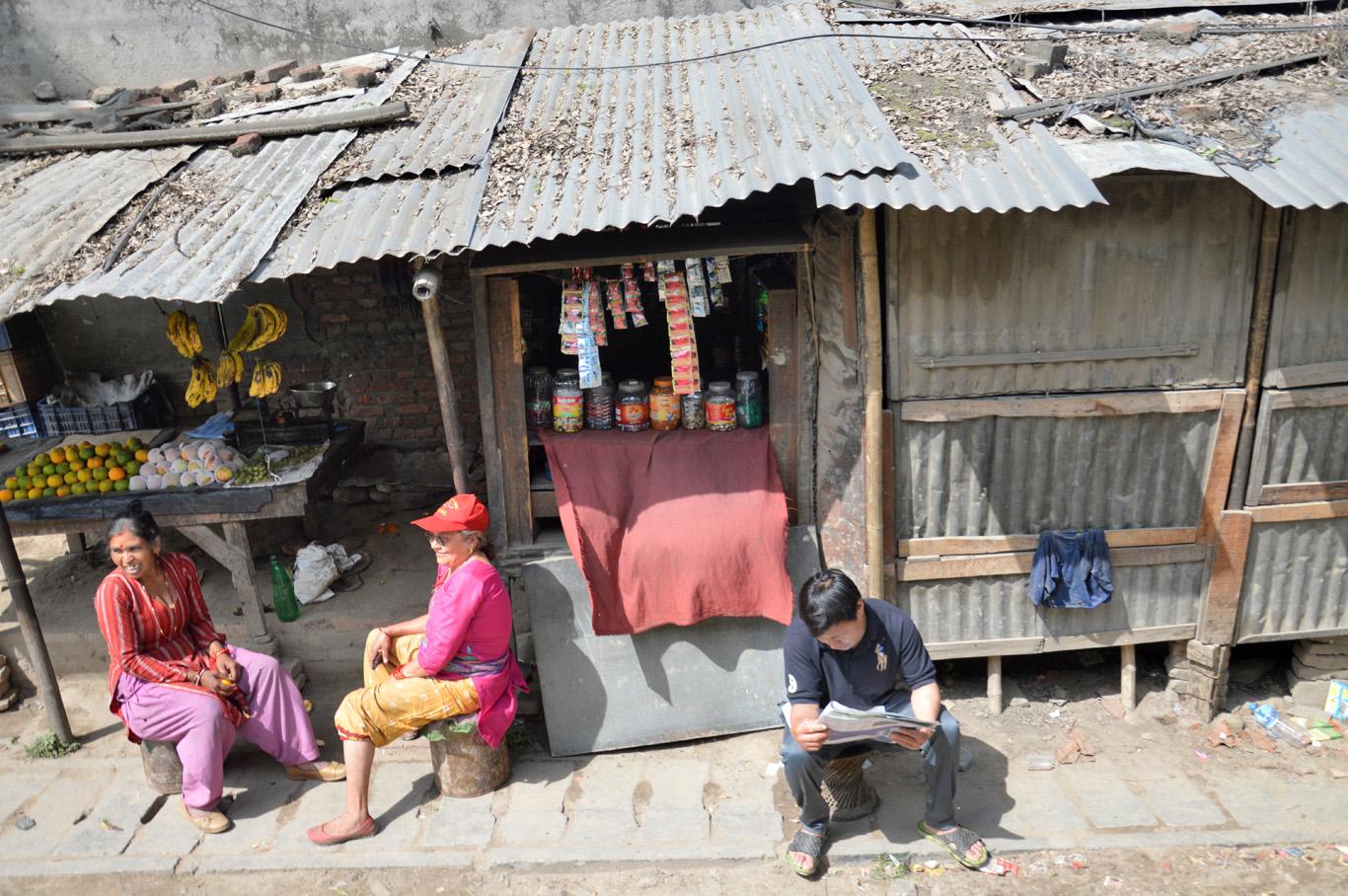 The suburbs of Kathmandu