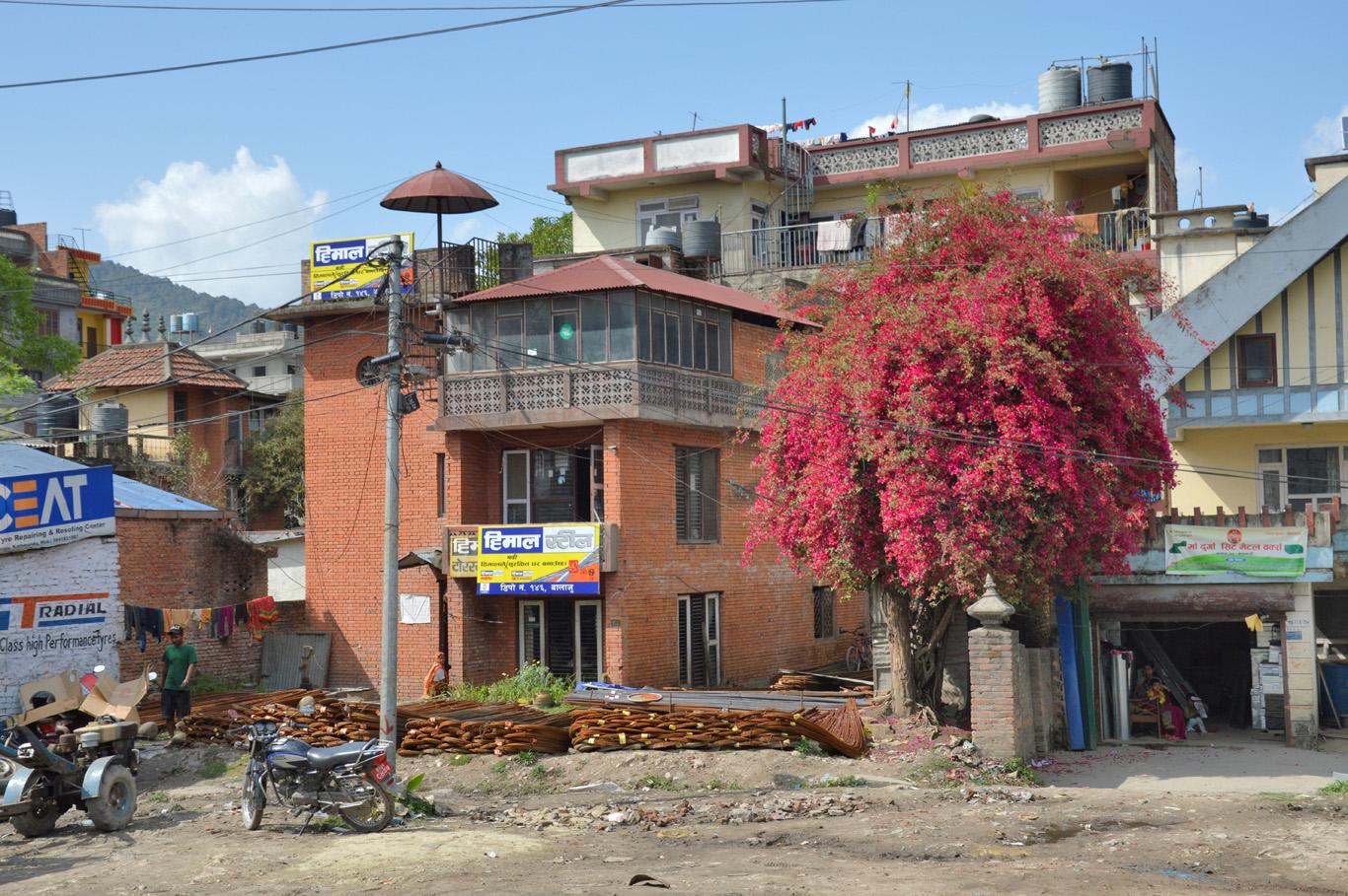 Street scene in Kathmandu