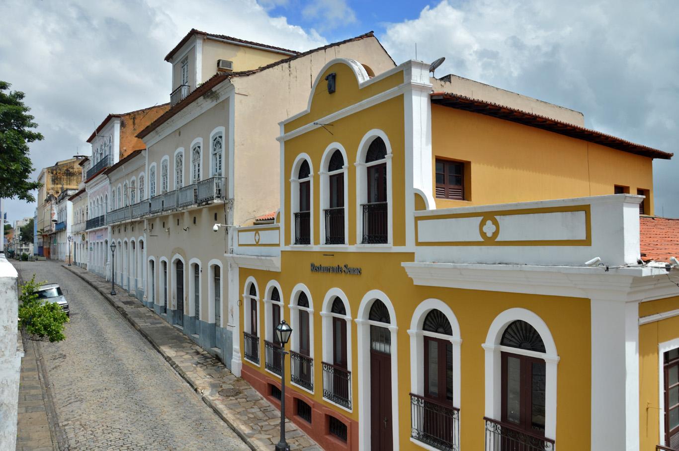 Historic Center in Sao Luis