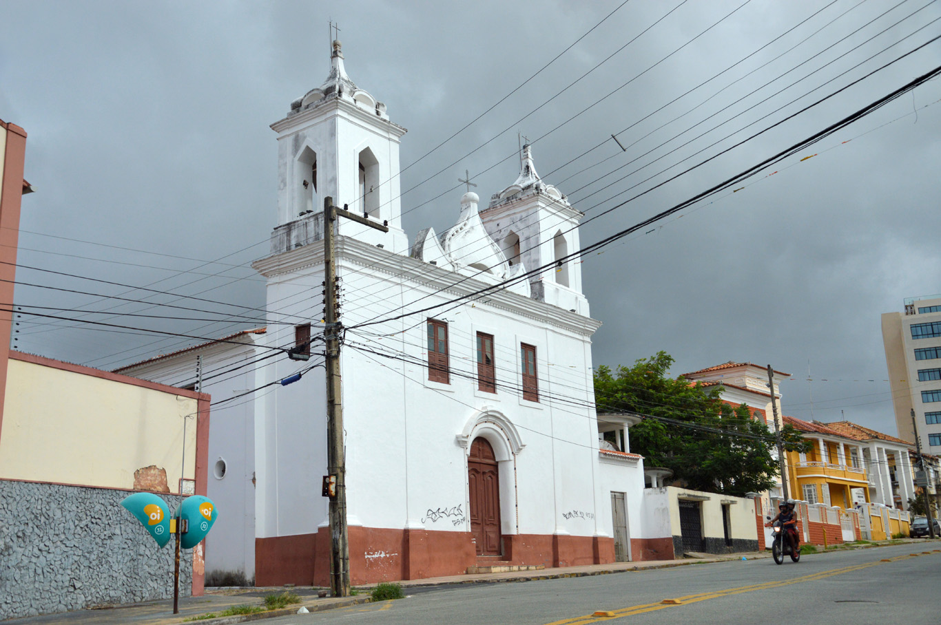 One of many churches in Sao Luis