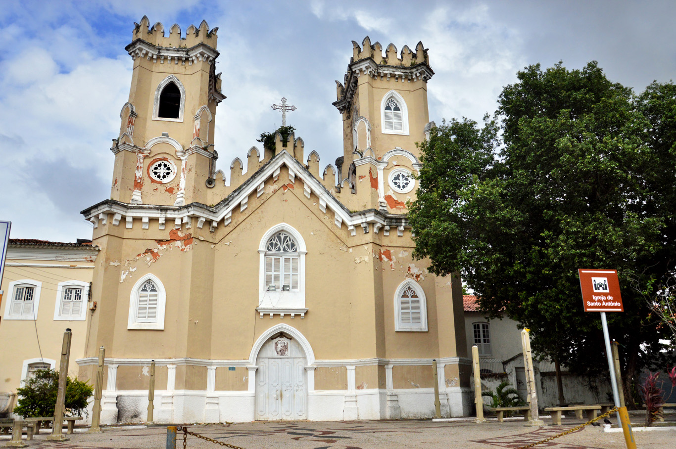 One of the churches in Sao Luis