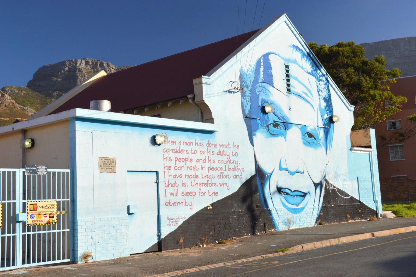 Graffiti near District Six