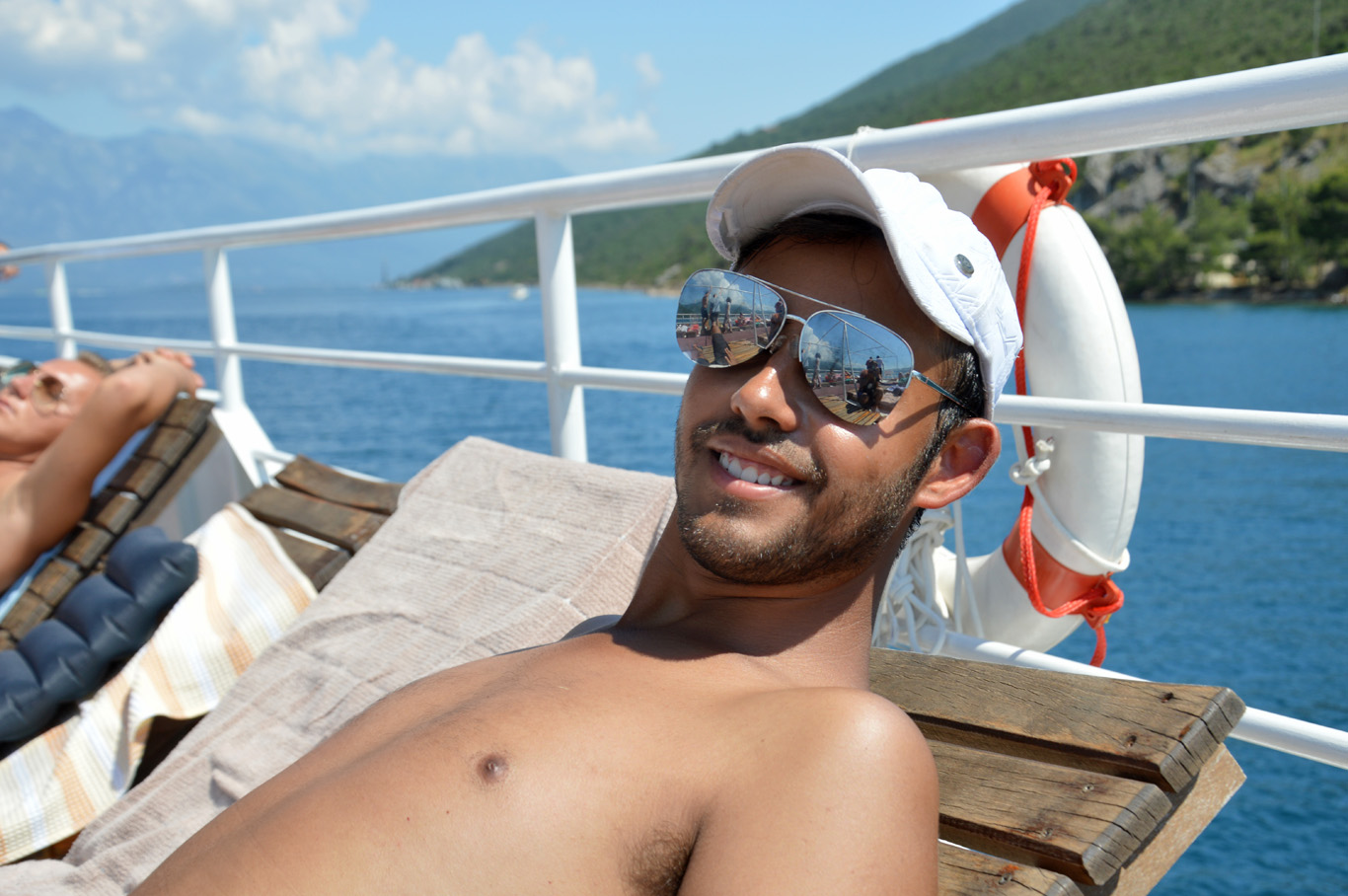 Relax on the ship