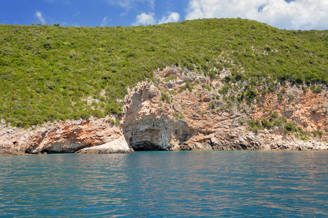 Rocky coast of Montenegro
