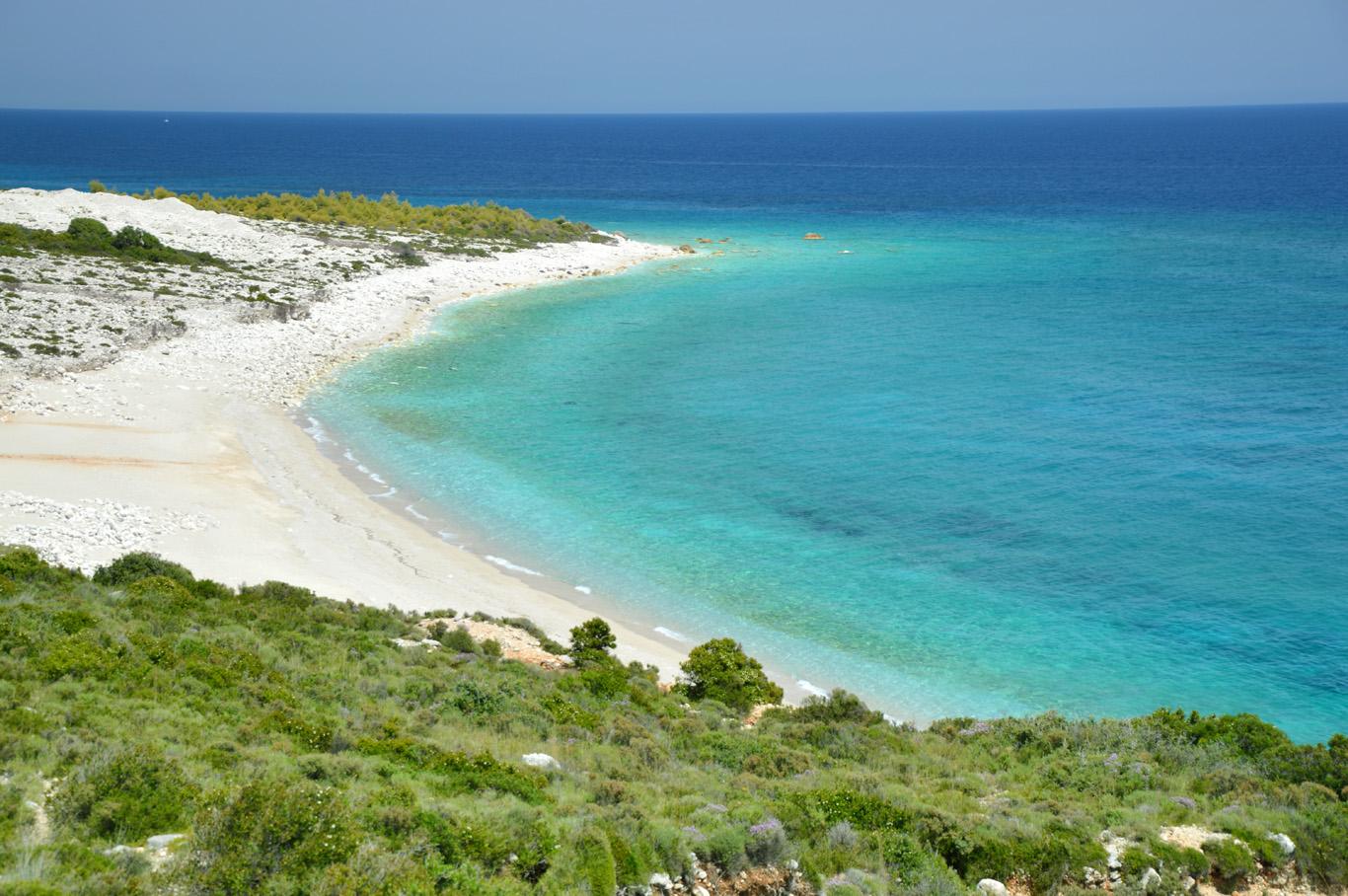 Beautiful, unspoiled coast