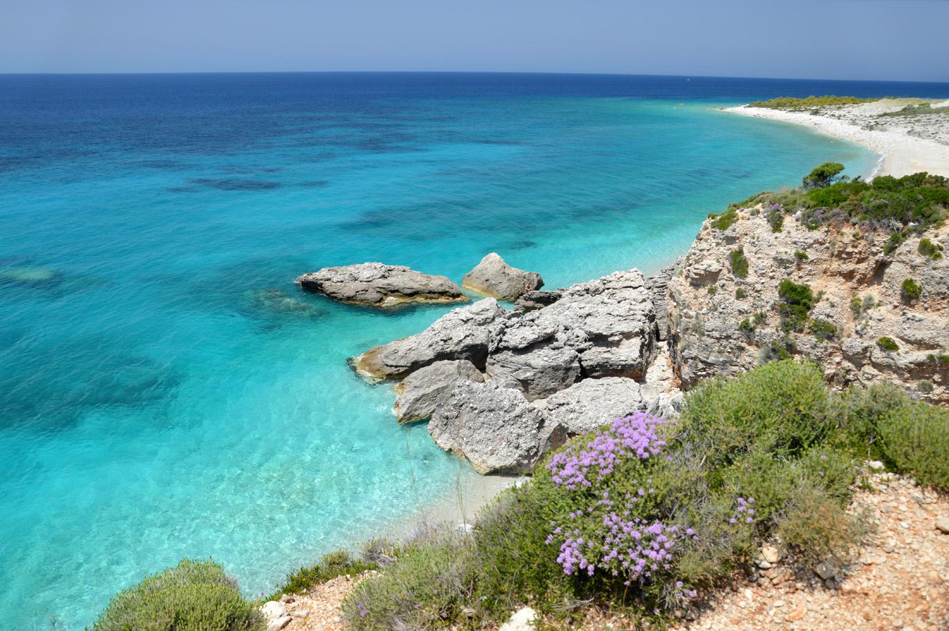Beautiful, untouched coastline