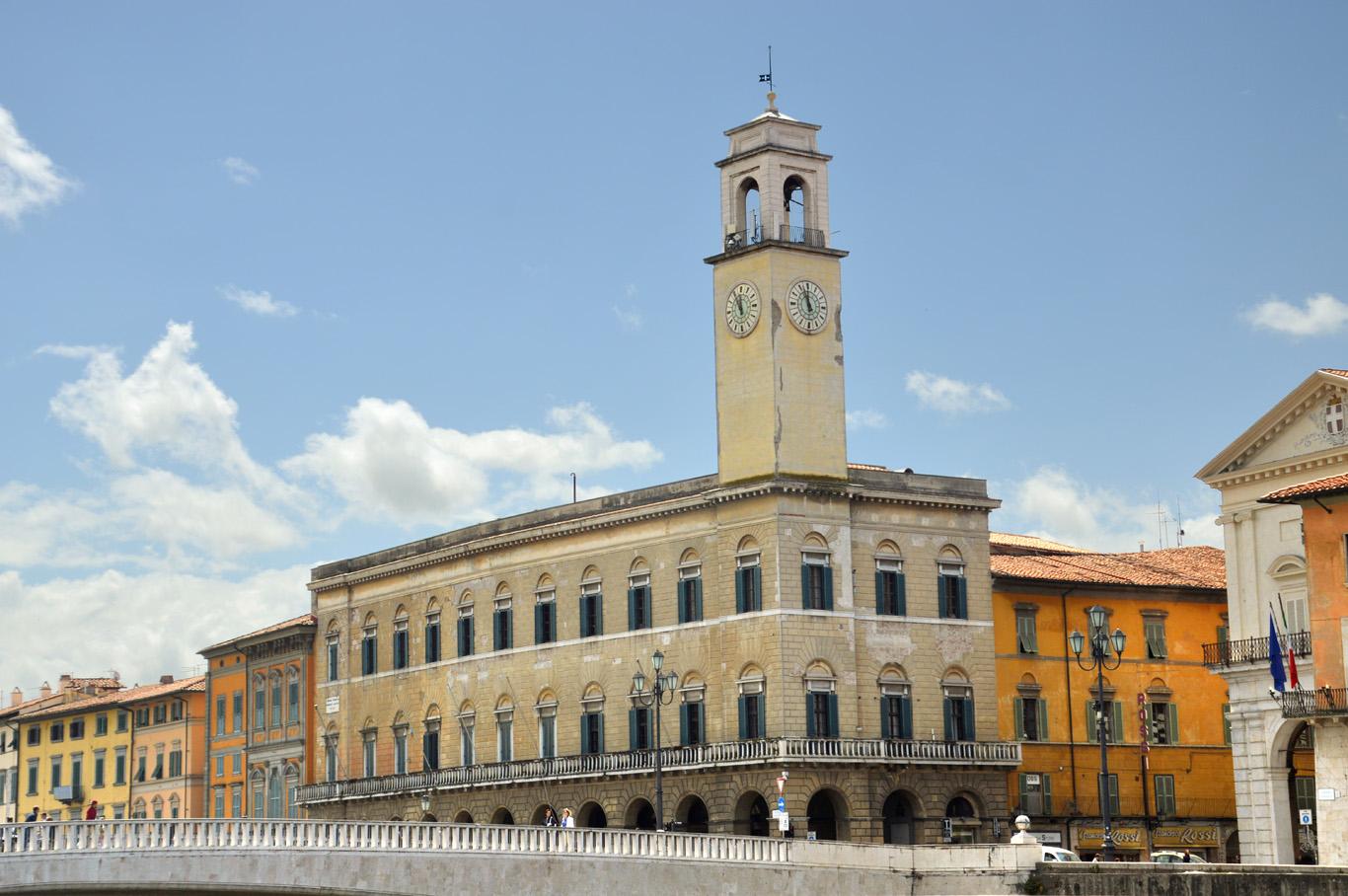 Architecture at the River Arno