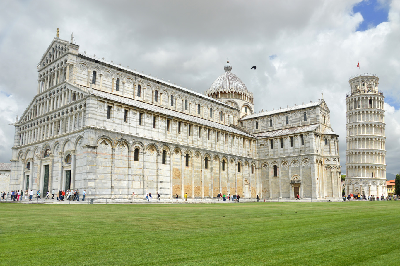 The Cathedral and the Leaning Tower