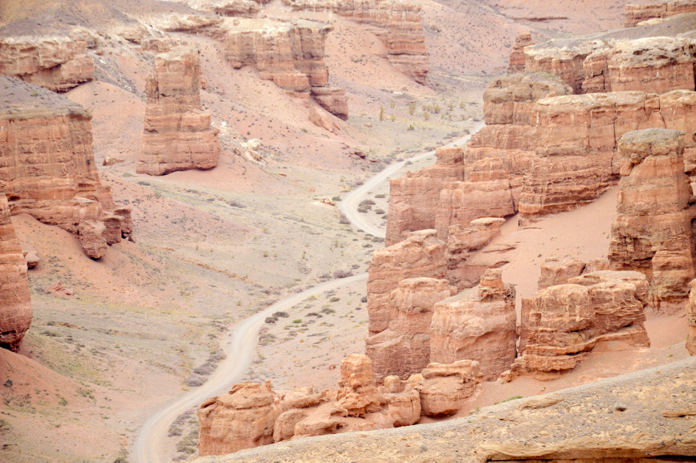 Charyn Canyon - The valley of castles