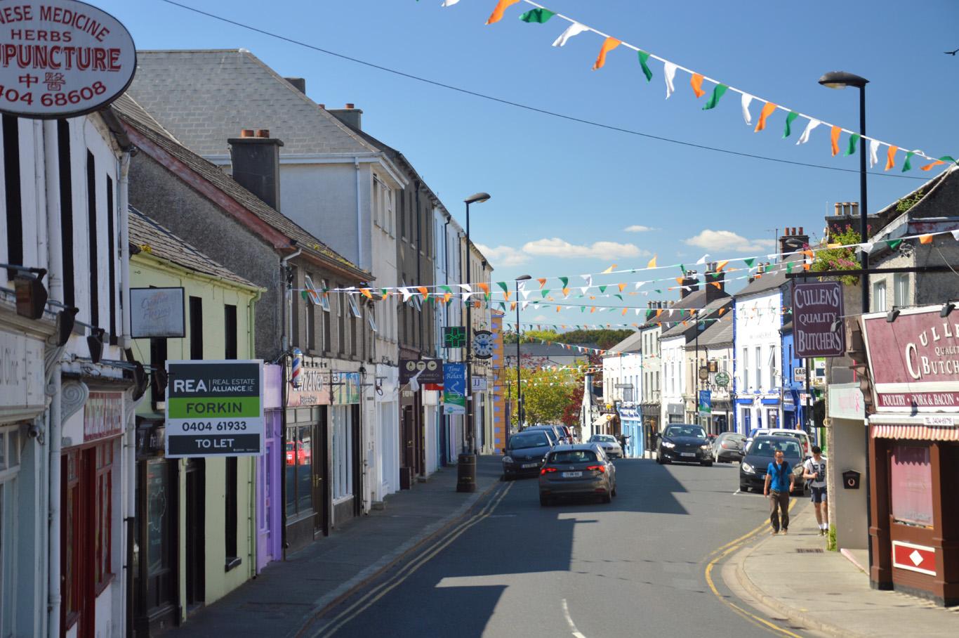 Main street in Wicklow