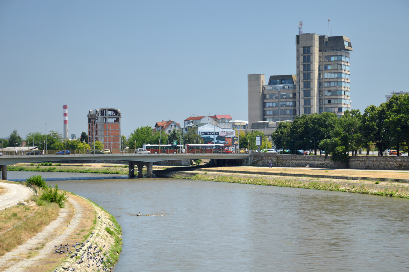 The other, old side of the river
