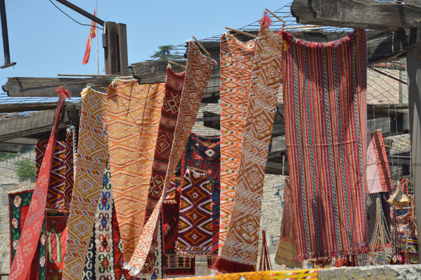 Carpets in the Old Bazaar