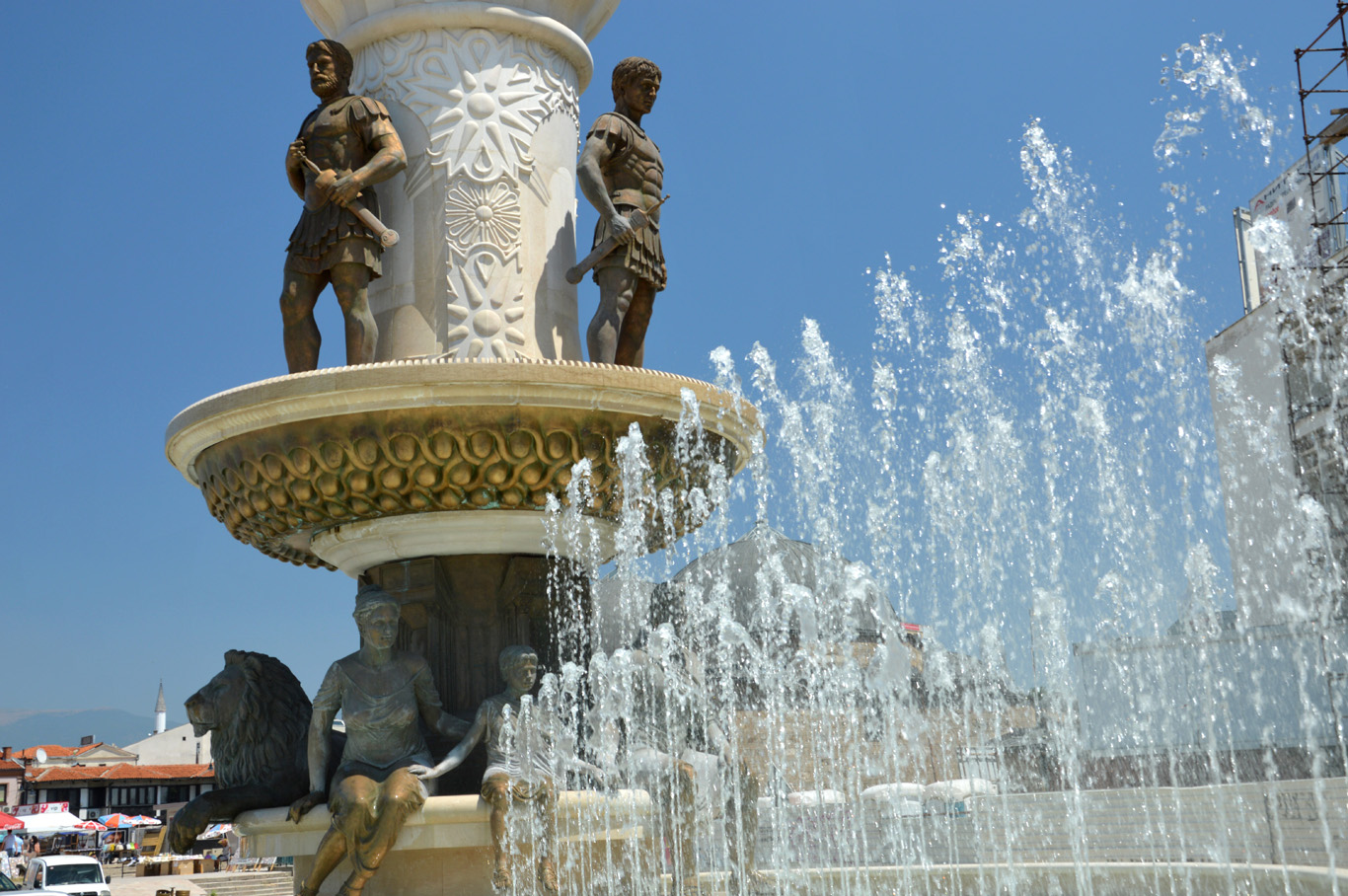 Skopje - City of monuments and statues